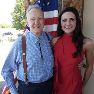 Gabrielle Gore and Veteran