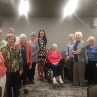 Friends at Grand Village Retirement Center